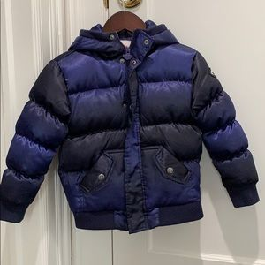 Appaman purple wave puffy coat